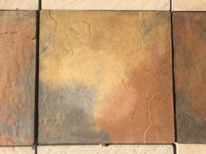 Multi Colour Paving Slabs