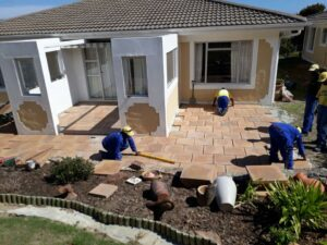 Paving Company Fish Hoek - Paving bricks and slabs - Paving Slabs Cape Town