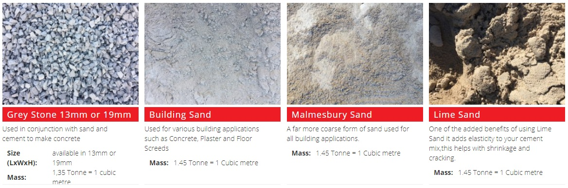 Building Materials Western Cape