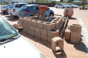Cinder blocks - retaining wall blocks Western Cape